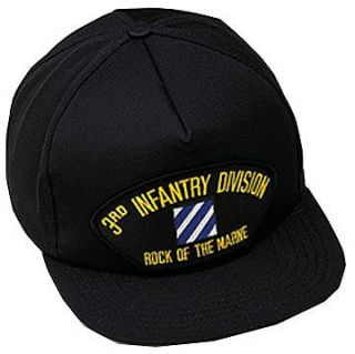 Infantry Division Ballcap 3rd ID Rock of The Marne Ball Cap Hat
