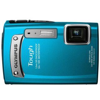 New Olympus Tough TG 320 14MP Waterproof Digital Camera Blue