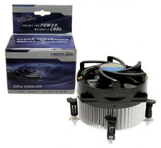 Masscool 8W501B1M3G LGA775 Quad Core Ready Ball Bearing CPU Cooler Fan