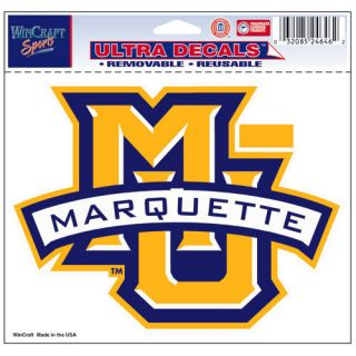 Marquette Golden Eagles NCAA Team Logo Sports Ultra Decal Bumper