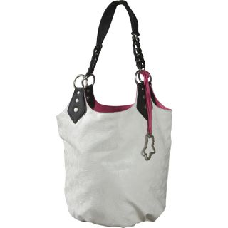 2012 Fox Racing Master Class Hobo Purse Handbag White