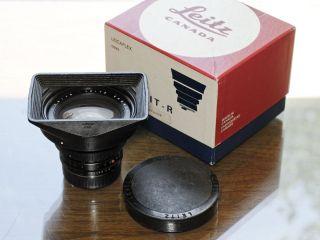 Leica Leitz Leicaflex Elmarit R 19mm f 2 8 Wide Angle Lens 1 2 8 19