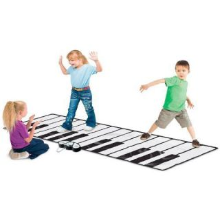 Worlds Biggest Piano Mat Super Gigantic Keyboard Playmat w/ Built In