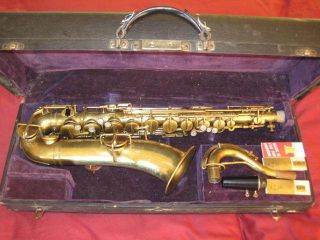The Martin C Melody C Tenor vintage saxophone matching numbers low