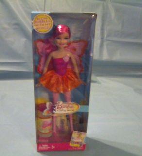 Mattel 2010 Barbie Doll A Fairy Secret Bubble Blower