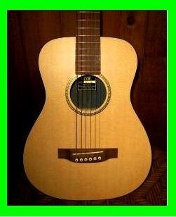 EZ PLAY MODIFIED LITTLE MARTIN ACOUSTIC GUITAR EASIEST PLAYING TRAVEL
