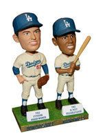 Don Drysdale Maury Wills Los Angeles Dodgers Bobblehead SGA