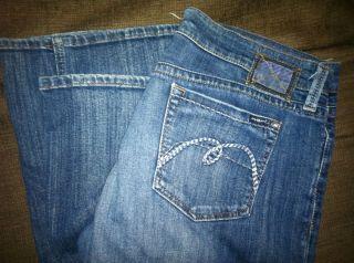 Womens Mavi Jeans Zoe Boot Cut 34 Low Rise Stretch Long