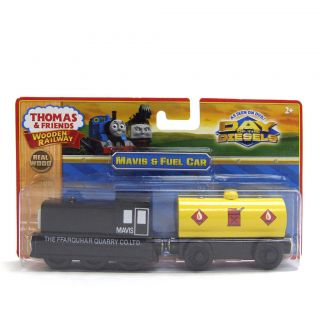 MAVIS W/FUEL CAR   Thomas and Friends Wooden Railway Train   NEW IN