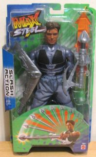 Max Steel Slash Attack Figure MISB New Max Steel Figure Toys