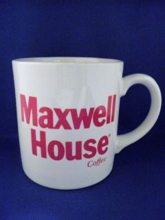 Maxwell House Coffee Advertising Mug Made in England