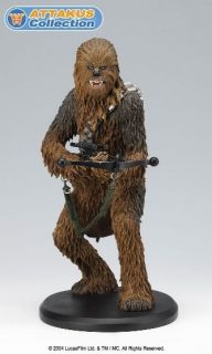Attakus Star Wars Chewbacca Statue Signed Peter Mayhew