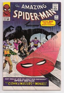 Marvel Comic Book The Amazing Spider Man 22 1st Princess Python Fn