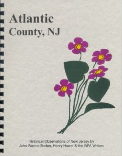 NJ ATLANTIC COUNTY CITY MAYS LANDING EGG HARBOR NEW JERSEY 1844 HOWE