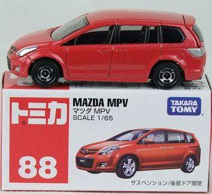 Tomy Tomica Matchbox No 88 Mazda MPV Red Diecast Car