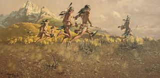 The Warriors by Frank McCarthy Mint Low Number