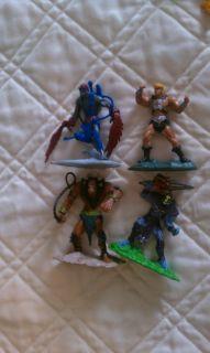 He Man Mini Figure Masters of Universe MOTU 2002 Skeletor Beastman