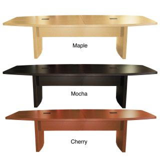 Mayline Aberdeen 12 Foot Conference Table Cherry