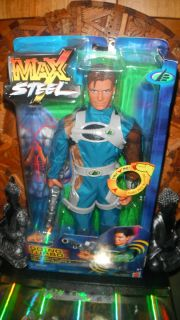 Max Steel  Going Turbo Mattel 12 1 6 Gi Joe Action Man Figure Very