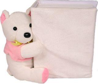 MBI Picture PAL Plush Animal Photo Album Teddy Bear