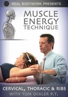 Muscle Energy Technique 2 Medical Massage Video on DVD
