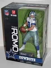 McFarlane Sports Pick NFL Tony Romo 12 Dallas Cowboys