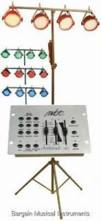 MBT DJ Stage Lighting LED Par Can Pack Lights