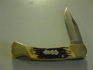 Vintage Uncle Henry U s A Schrade Lock Blade Pocket Knife LB8