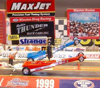 DRAG STRIP DEMONS SNAKE & MONGOOSE NHRA DRAGSTERS PRUDHOMME & McEWEN