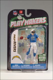 McFarlane Sports Toys Playmakers 2012 4 inch NFL Philip Rivers