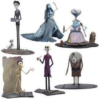 McFarlane Toys Corpse Bride Series 2 Figure Set of 6