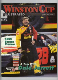 Cup Illustrated Nascar Magazine 1995 March Harry McMullen, Buddy Baker