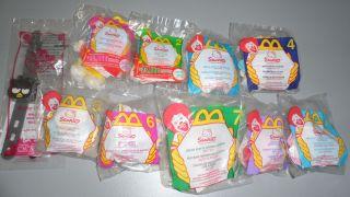 McDonalds Happy Meal Hello Kitty Sanrio Lot