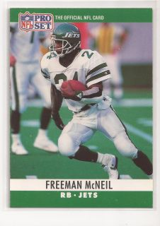 1990 Freeman McNeil Pro Set Card 238 New York NY Jets UCLA Bruins