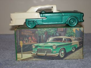 Vintage 55 Chevy Avon Bottle with Box