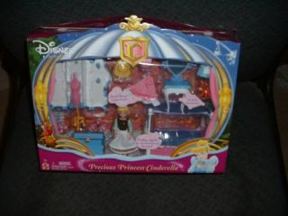 Disney Precious Princess Cinderella Pocket Doll Bedroom New