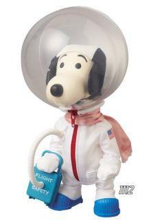 Medicom Vinyl Collectible Doll No 197 Snoopy PEANUTS ASTRONAUT SNOOPY