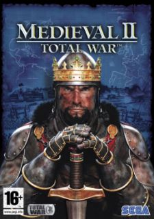 Medieval II 2 Total War w/ Manual PC DVD empire building & combat