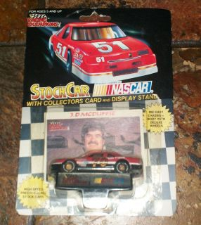 Champions Stock Car Collectors Card NASCAR J D McDuffie 70
