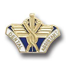 Dental Assistant Medical Emblem Lapel Pin 5043 New