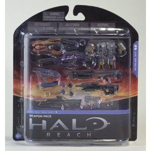 Halo Reach Series 5 Weapon Pack McFarlane Action Figure New