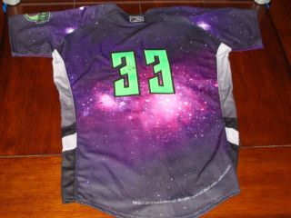 SIGNED Danny Hultzen 33 STAR WARS Jackson Generals Game Jersey SEATTLE