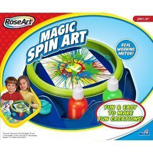 Spin Art Machine Rose Art by Mega Brands kids classic toy paint easy
