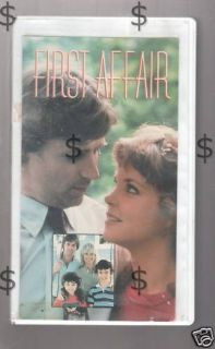 First Affair Melissa Sue Anderson 1983 TV RARE VHS