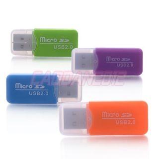 Mini Micro SD Card Reader TF Memory Card Reader Writer USB 2 0 High