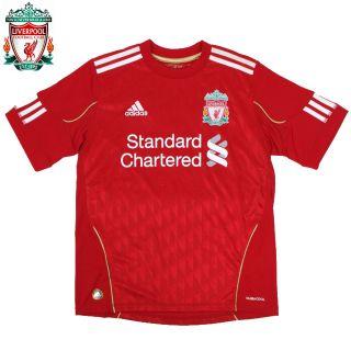 nwt Adidas LIVERPOOL FC England Football Soccer Shirt Jersey Home Top