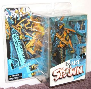 McFarlane Toys BLUE SPAWN Collectors Club Exclusive issue 007 Figure