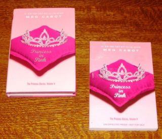 RARE Princess in Pink Meg Cabot Signed 1st 1st Arc