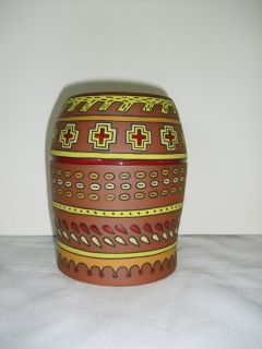 Victoria McKinney Native American Indian Pottery Vase Spiro Mounds