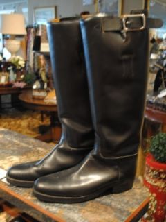 Mens Leather English Riding Boots